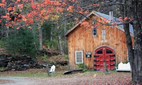 The Naked Potter Studio, Waitsfield, Vermont