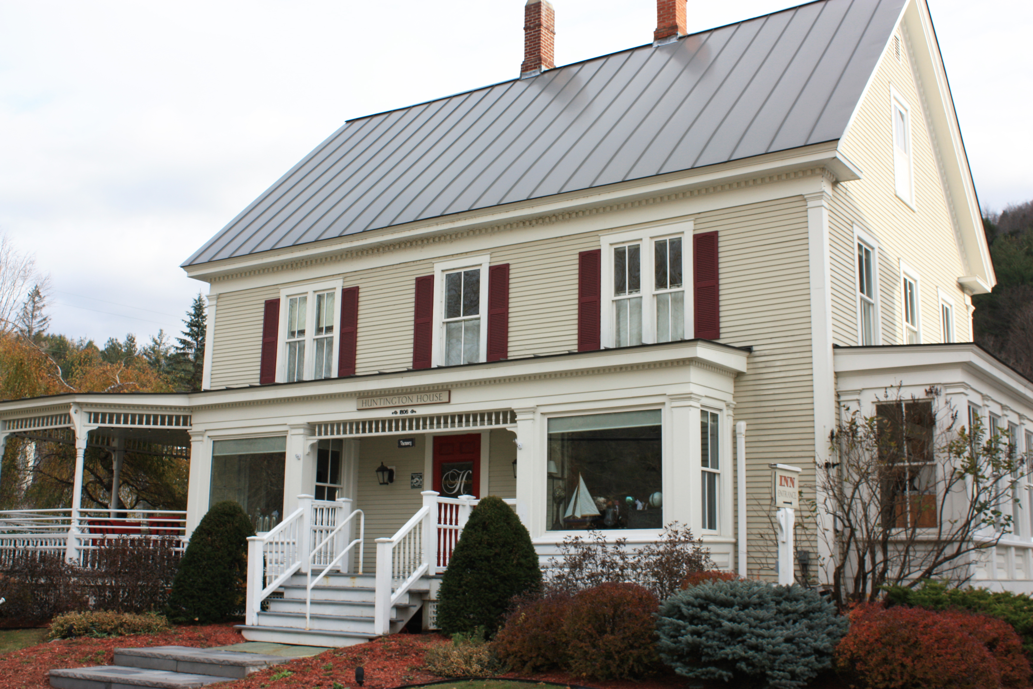 The Huntington House Rochester Vermont Travel Like A