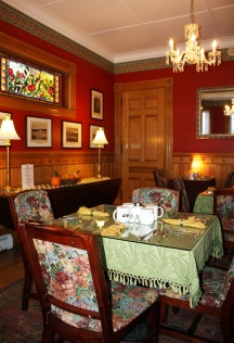 The Dining Room at the Lang House on Main Street
