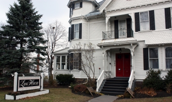 Lang House Facade - Burlington, Vermont